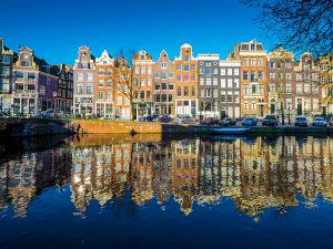 Amsterdam leads the way as European office take-ups take off