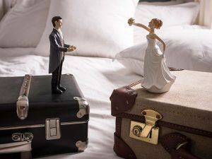 There are numerous legal challenges when business partners divorce