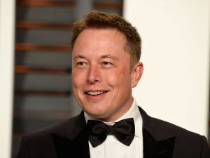 Elon Musk, CEO of electric car manufacturer Tesla, has become a public personality, often using his Twitter account to joke with his followers