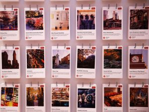 Pinterest users can create mood board-style image collections on the app