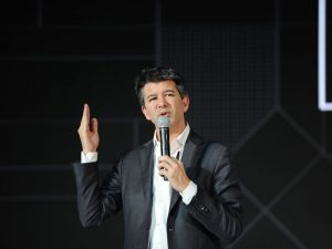 Uber co-founder Travis Kalanick will use money from the sale of his Uber shares to fund his new project, 10100