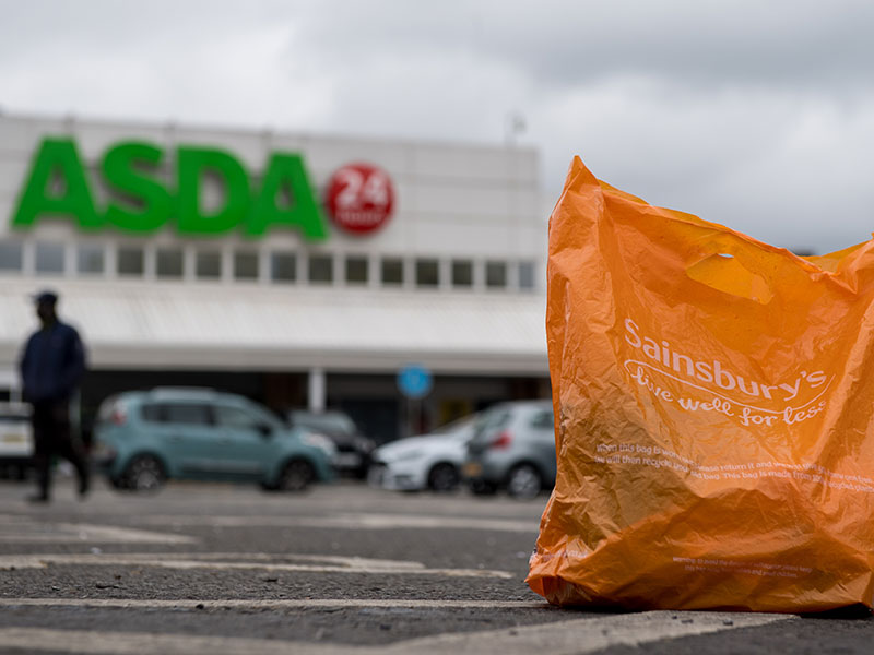 Sainsbury's to become UK's largest supermarket following Asda merger