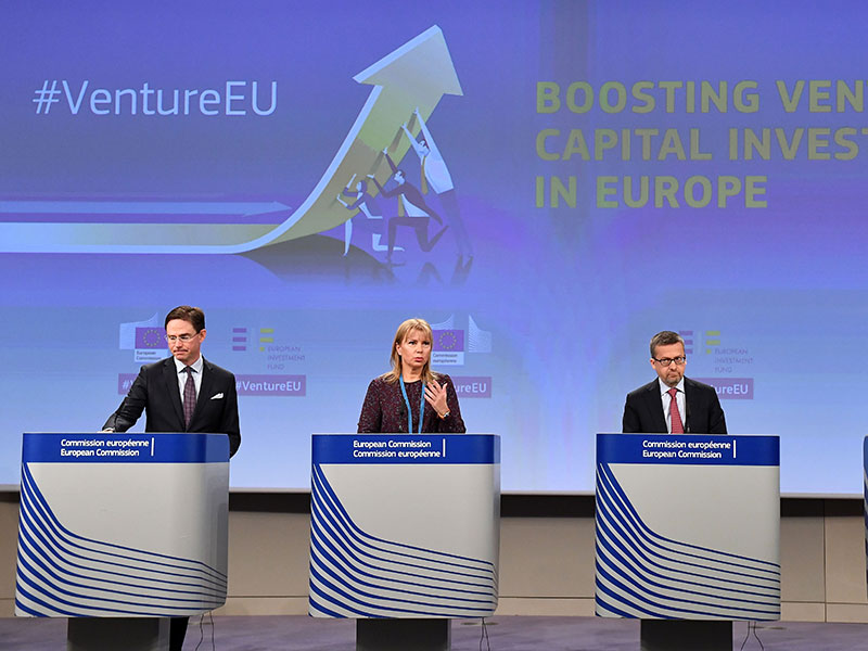 EU launches venture capital programme to boost start-up growth