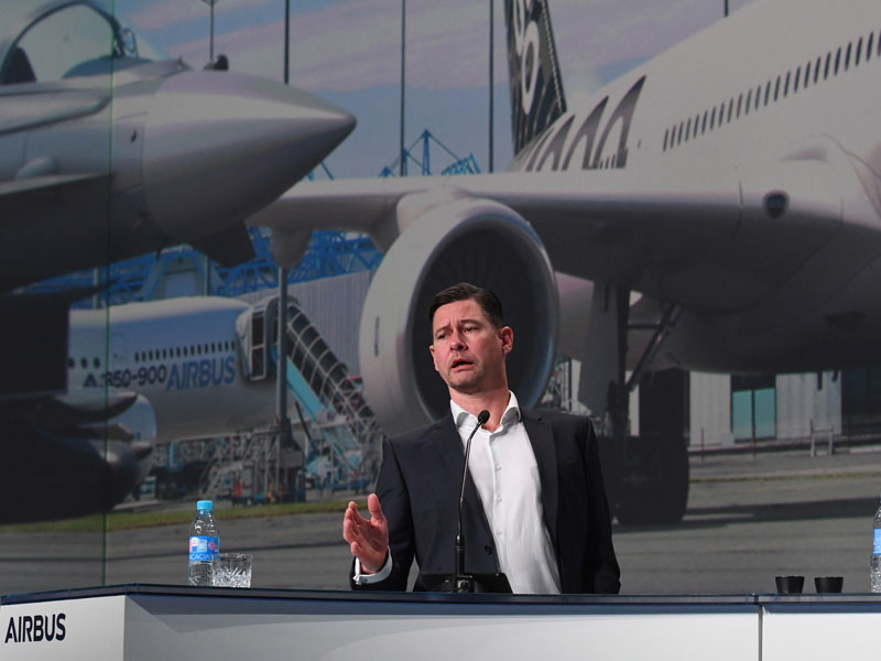 Having served at Airbus for 19 years, Harald Wilhelm will leave the company in 2019. The announcement follows CEO Tom Enders' decision to step down next year