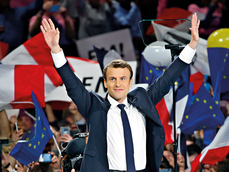 French investment climate flourishes under Macron presidency