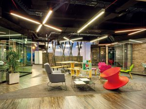 How office design can improve employee productivity and wellbeing
