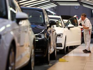 Global trade disputes and a bottleneck in the auto sector have been cited as key causes of the 6.8 percent economic contraction Germany experienced in the third quarter of the year