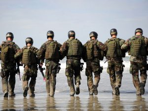 The Navy SEALs operate with a flexible structure, where they conform to hierarchies when necessary but can operate with a flat structure during team debriefs