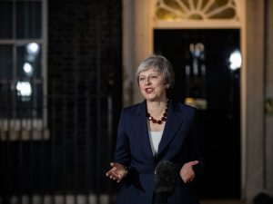 UK Prime Minister Theresa May delivered a Brexit statement on November 14, stating that the her cabinet had approved a draft Brexit agreement