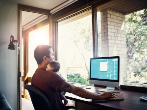 Top 5 ways to maximise new parents' work-life balance with technology