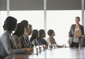 Gender-balanced boards improve effectiveness and leadership