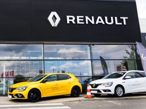Renault showroom